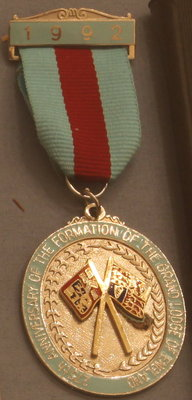 Grand Lodge of England 275th Anniversary Medal