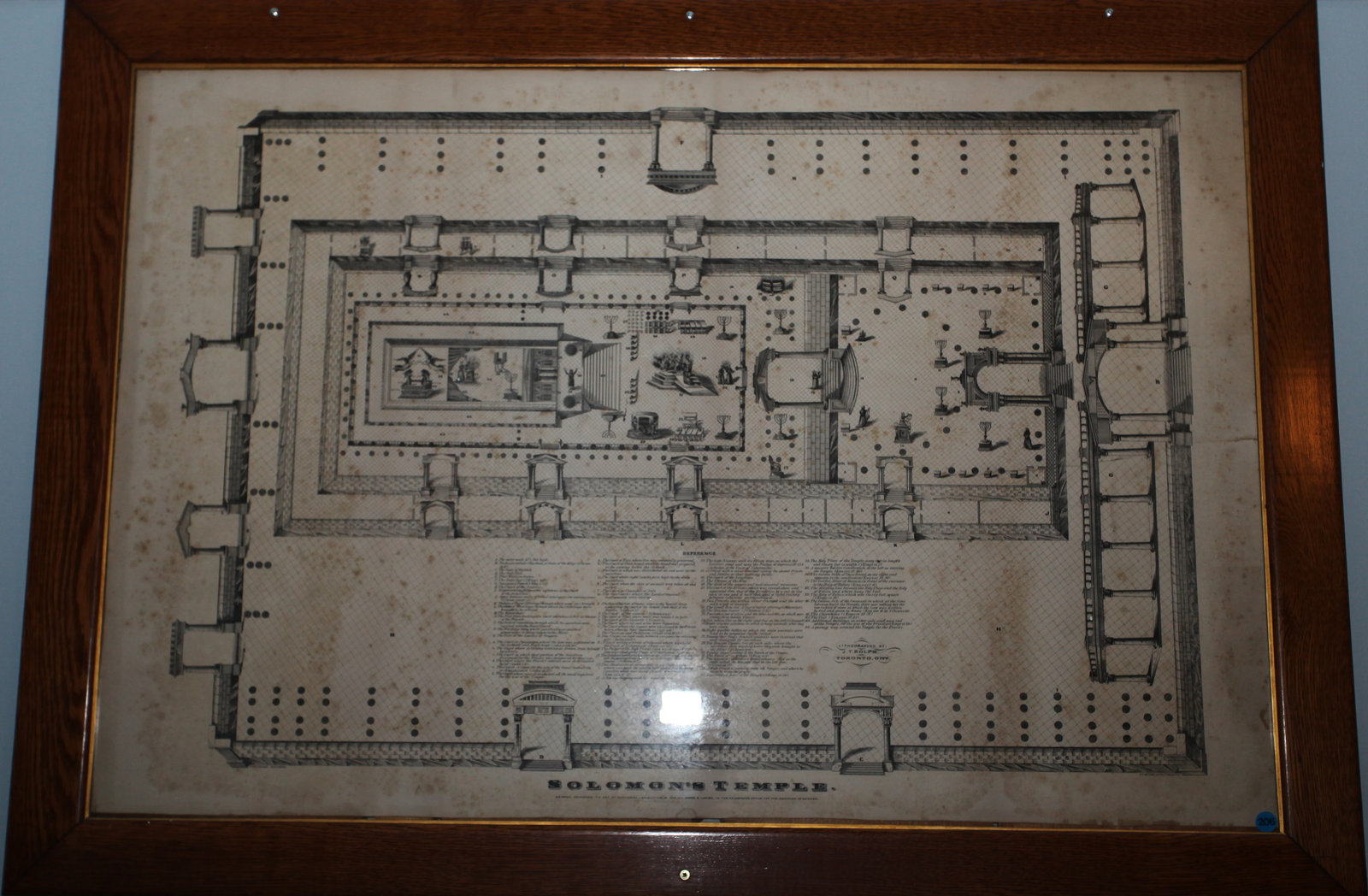 Plan of Solomon's Temple