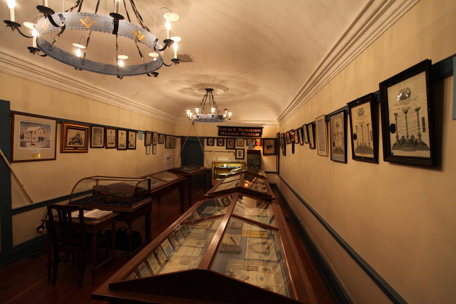 Colin K. Duquemin Masonic Museum