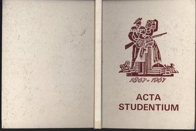 Niagara District Secondary School Yearbook (1966-1967)