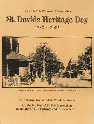 St. Davids Heritage Day. 1780 - 2003