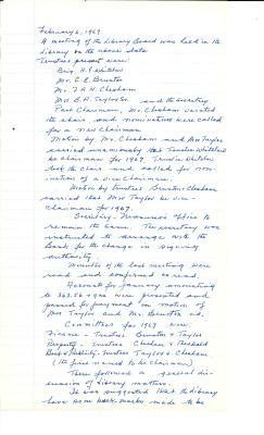 1967-72 Board Minutes