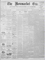 Newmarket Era (Newmarket, ON)5 Mar 1869