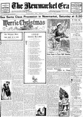 Newmarket Era (Newmarket, ON1861), 19 Dec 1930