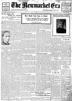 Newmarket Era (Newmarket, ON1861), 13 Feb 1931