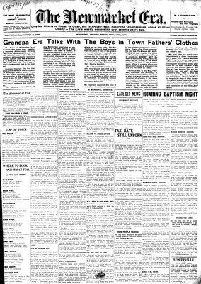 Newmarket Era (Newmarket, ON1861), 17 Apr 1931