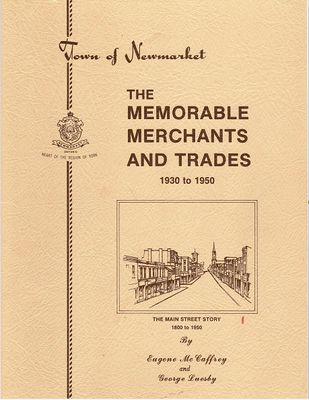 The Memorable Merchants and Trades, 1930-1950;   The Main Street Story 1800 to 1950