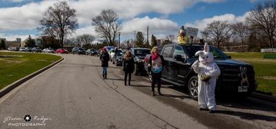 Good Friday Car parade at NHC on Eagle Street