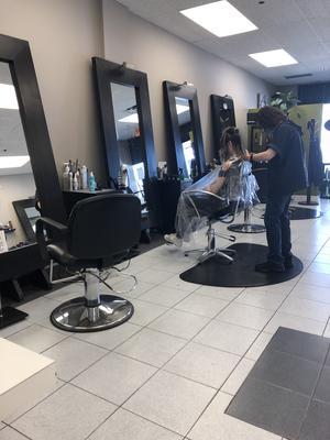 Hair Salons Open