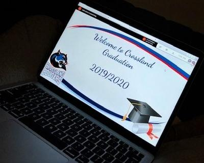 Crossland Public School grade eight graduation 2020