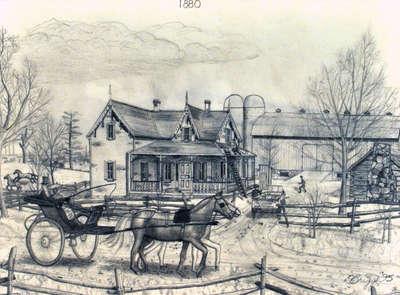 Chronicles of a 19th century farm - 1880