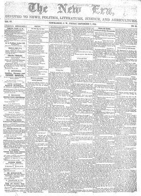 New Era (Newmarket, ON), September 7, 1855