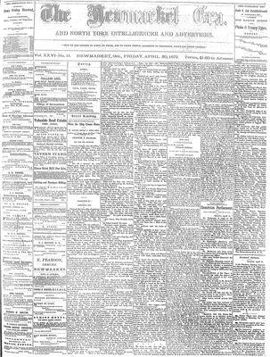 Newmarket Era (Newmarket, ON1861), April 20, 1877