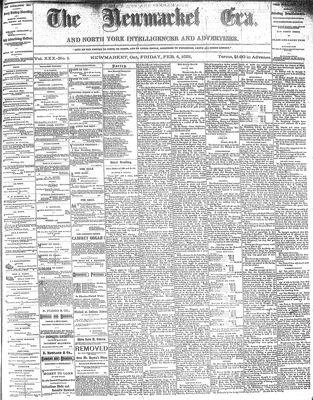 Newmarket Era (Newmarket, ON1861), February 4, 1881