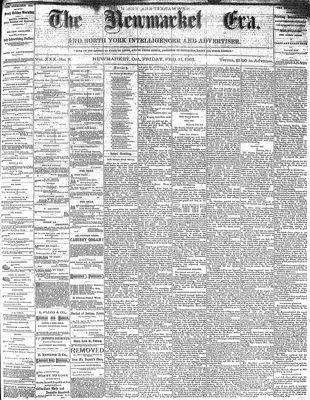 Newmarket Era (Newmarket, ON1861), February 11, 1881