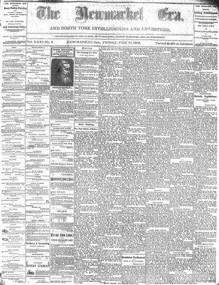Newmarket Era (Newmarket, ON1861), February 17, 1882