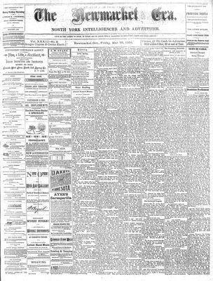 Newmarket Era (Newmarket, ON1861), March 28, 1884