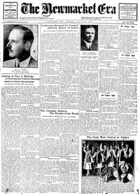 Newmarket Era (Newmarket, ON1861), February 7, 1930