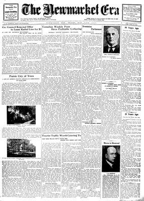 Newmarket Era (Newmarket, ON1861), March 14, 1930