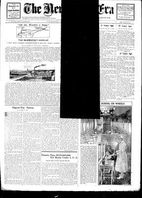 Newmarket Era (Newmarket, ON1861), March 21, 1930