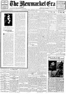 Newmarket Era (Newmarket, ON1861), May 16, 1930