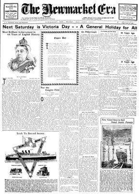 Newmarket Era (Newmarket, ON1861), May 23, 1930