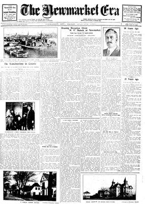 Newmarket Era (Newmarket, ON1861), July 4, 1930