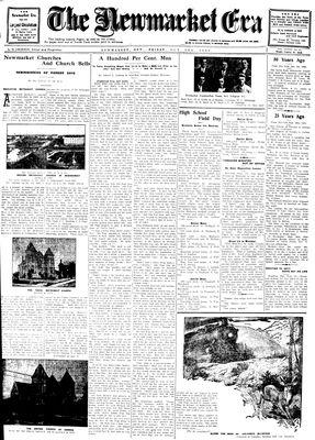 Newmarket Era (Newmarket, ON1861), October 3, 1930