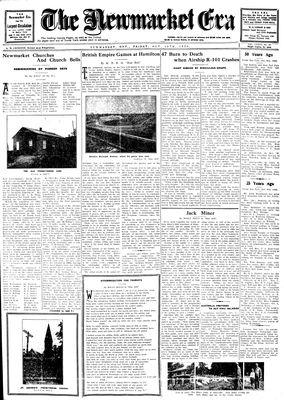 Newmarket Era (Newmarket, ON1861), October 10, 1930
