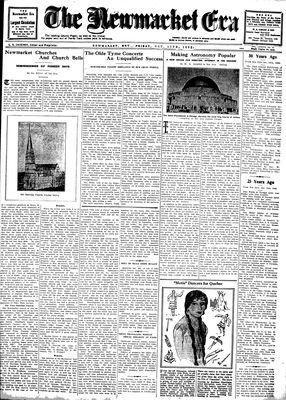 Newmarket Era (Newmarket, ON1861), October 17, 1930