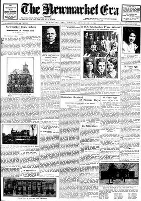 Newmarket Era (Newmarket, ON1861), November 21, 1930