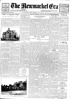 Newmarket Era (Newmarket, ON1861), November 28, 1930