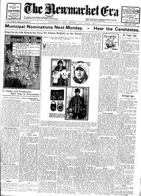 Newmarket Era (Newmarket, ON1861), December 26, 1930