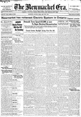 Newmarket Era (Newmarket, ON1861), May 15, 1931