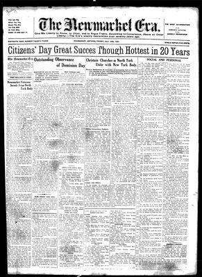 Newmarket Era (Newmarket, ON1861), July 3, 1931