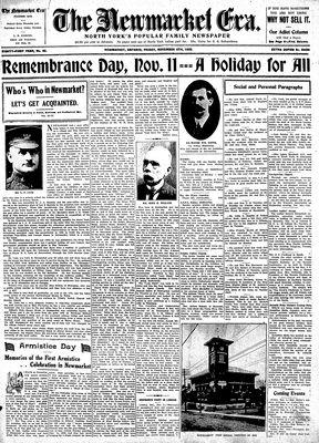 Newmarket Era (Newmarket, ON1861), November 4, 1932