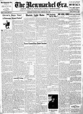 Newmarket Era (Newmarket, ON1861), February 23, 1934