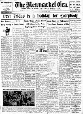 Newmarket Era (Newmarket, ON1861), March 23, 1934