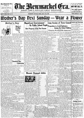 Newmarket Era (Newmarket, ON1861), May 11, 1934