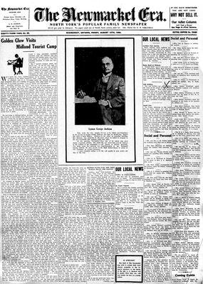 Newmarket Era (Newmarket, ON1861), August 10, 1934