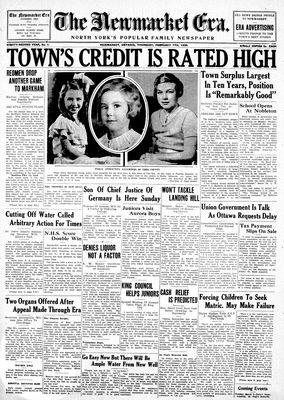 Newmarket Era (Newmarket, ON1861), February 7, 1935