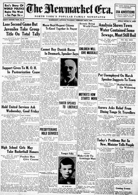 Newmarket Era (Newmarket, ON1861), February 28, 1935