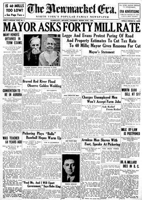 Newmarket Era (Newmarket, ON1861), March 21, 1935