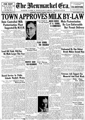 Newmarket Era (Newmarket, ON1861), April 4, 1935