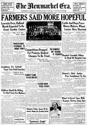 Newmarket Era (Newmarket, ON1861), May 16, 1935