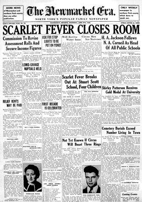 Newmarket Era (Newmarket, ON1861), June 6, 1935