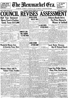 Newmarket Era (Newmarket, ON1861), July 4, 1935