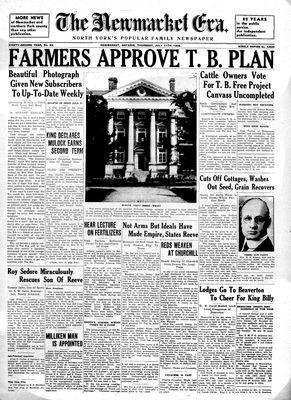 Newmarket Era (Newmarket, ON1861), July 11, 1935