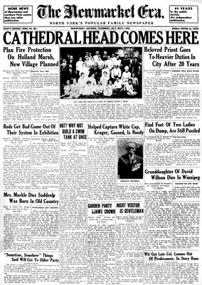 Newmarket Era (Newmarket, ON1861), July 25, 1935