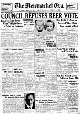 Newmarket Era (Newmarket, ON1861), August 8, 1935